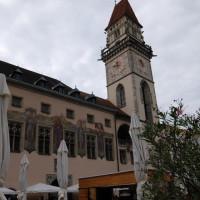 Das alte Rathaus der Drei-Flüsse-Stadt Passau