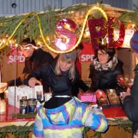 Auch 2016 mit der SPD-Bude am Adventsmarkt präsent