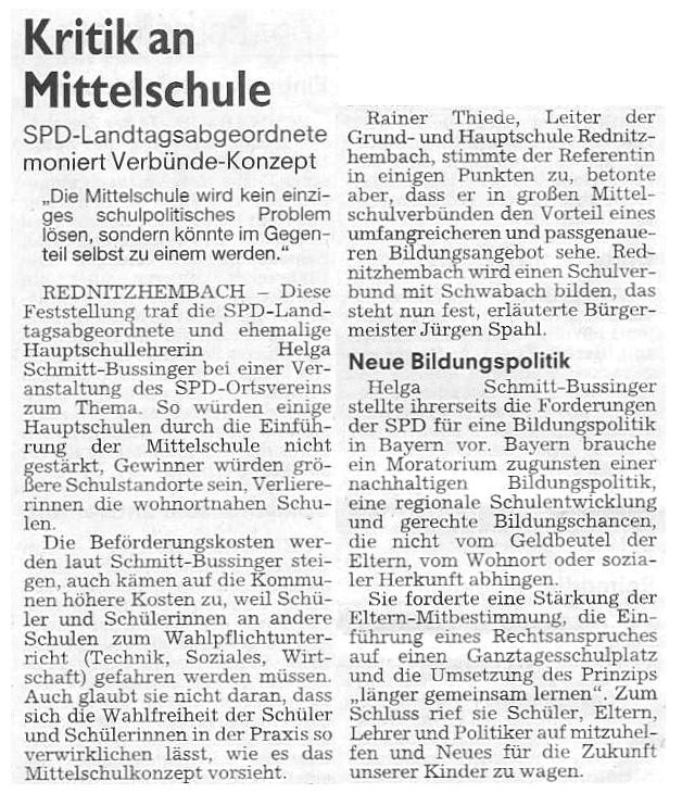 Artikel ST Mittelschule 07.05.2010