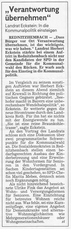 Artikel ST Wahlveranstaltung 2014 24.02.2014