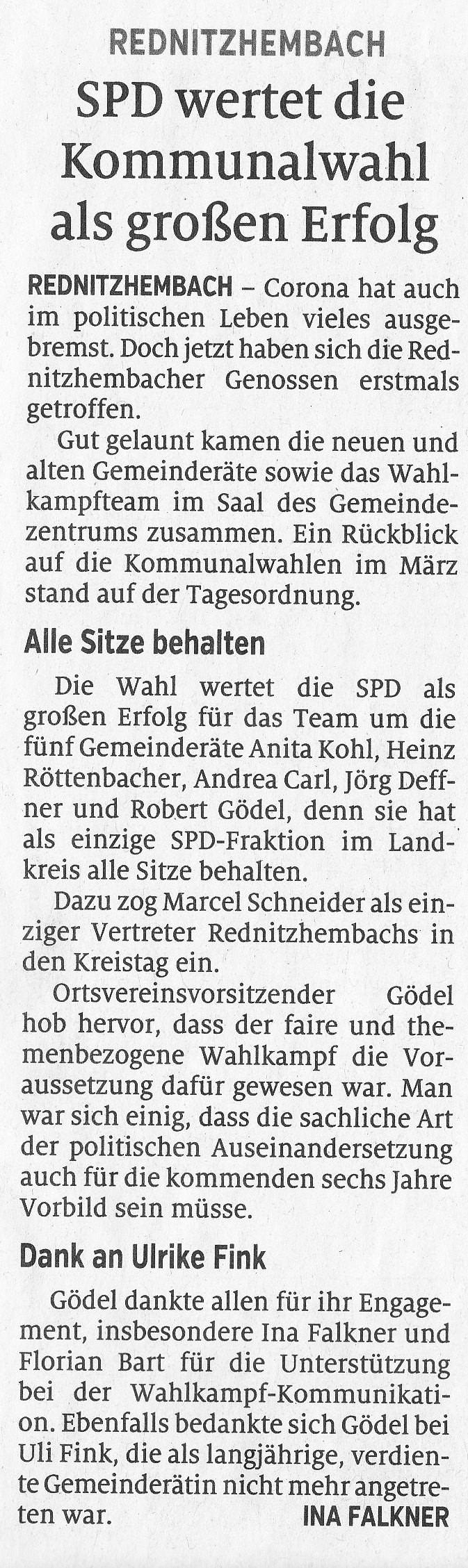 Artikel Schwabacher Tagblatt 27.07.20, HST S. 24