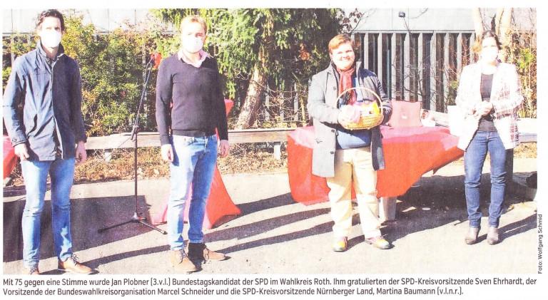 Bild im Schwabacher Tagblatt, Ausgabe 22.02.21 HST Seite 26